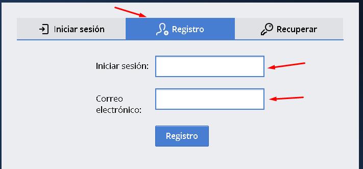 Registrarse en Kolotibablo